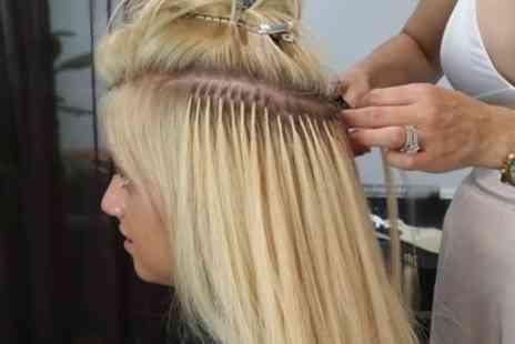 SG Hair Enhancements - Full Head of 18 Inch Hair Extensions with Style and Finish - Save 80%
