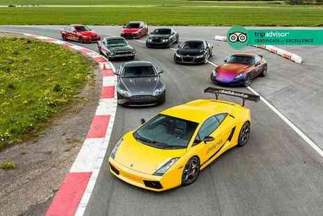 Drift Limits - Four lap Blast supercar driving experience or eight lap Thrill supercar driving experience - Save 51%