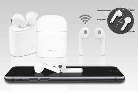 Maxwe - Pair of Apple compatible wireless earbuds - Save 79%