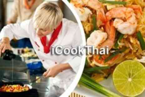 iCookThai - Three Hour Thai Cooking Class - Save 71%