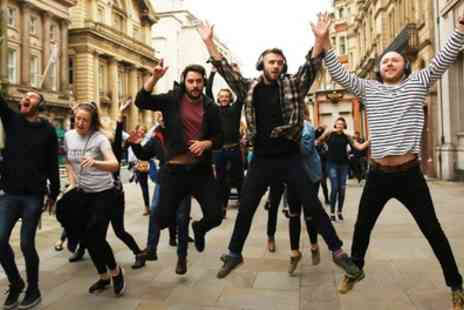 Silent Adventures - August One Hour Silent Disco Dancing Tour Experience for One or Two - Save 37%