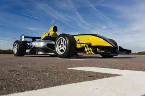 Drift Limits - 14 Lap F1000 Single Seater Experience Including a High Speed Passenger Lap for One or Two - Save 50%