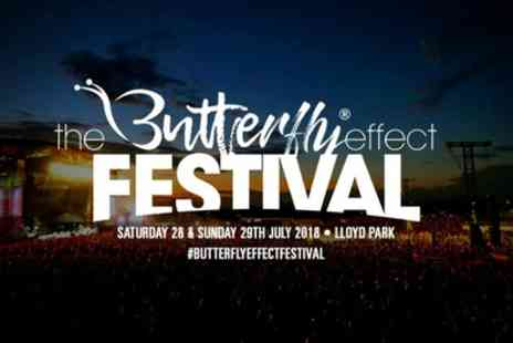 The Butterfly Effect Festival 2018 - Ticket to The Butterfly Effect Festival on 28 or 29 July - Save 34%