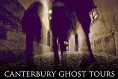The Canterbury Ghost Tour - Tickets For Four People for The Canterbury Ghost Tour - Save 56%