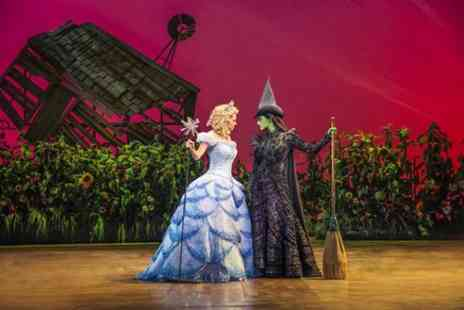 London Theatre Direct - Wicked at the Apollo Victoria Theatre and Dinner Combo - Save 0%