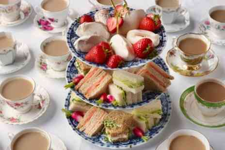 Cafe Cafe - Afternoon Tea for Two or Four - Save 0%