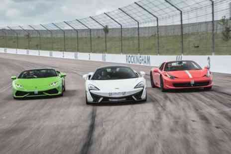Supercar Drive Days - Three or Five Laps in One or Two Supercars and Optional Hot Lap - Save 17%