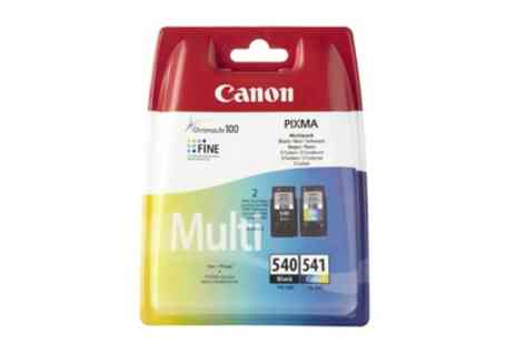 Raion - Canon Original PG-540 and CL-541 Colour Ink Cartridge Bundle - Save 0%
