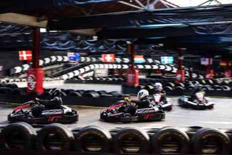 Cannon Raceway - Karting Package 50 Laps with Membership For One, Two or Four - Save 50%
