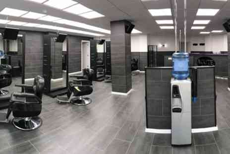 Acute Barbers - Cut with Optional Beard Trim and Shape or Hot Towel Shave and Facial - Save 56%
