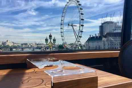 Bustronome - Six Course Fine Dining Experience and London Bus Tour with Panoramic Views - Save 43%