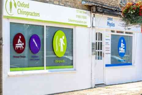 Oxford Physios - Physiotherapy Consultation with Optional Follow up Treatment - Save 83%