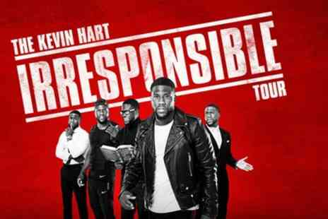 Live Nation HQ - Two tickets to see Kevin Hart on 3 September - Save 52%
