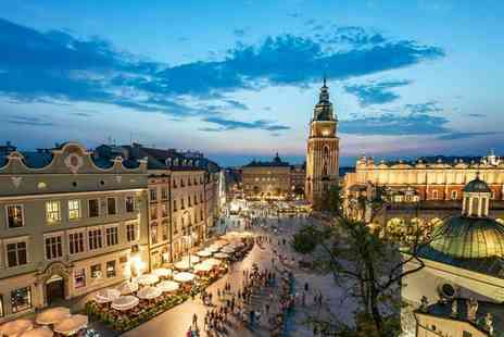 Book It Now Holidays - Two night Krakow apartment stay with return flights - Save 47%