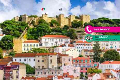 Book It Now Holidays - Two night 5 Star Lisbon break with flights - Save 40%