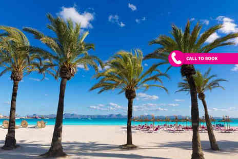 Book It Now Holidays - Three, five or seven night all inclusive Mallorca break with return flights - Save 48%