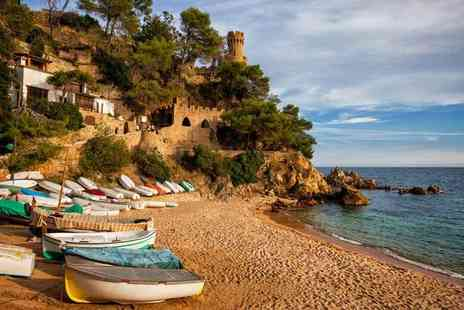 Book It Now Holidays - Three, five or seven night all inclusive Costa Brava break with return flights - Save 45%