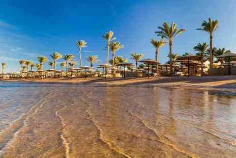 Book It Now Holidays - Seven night all inclusive 4 Star Hurghada getaway with return flights - Save 54%