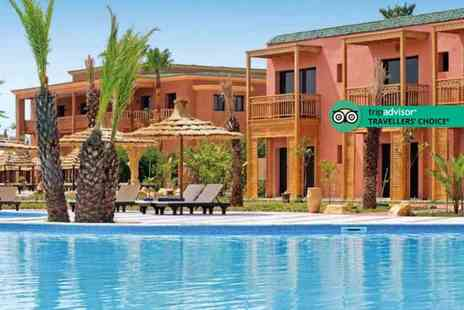 Book It Now Holidays - Three night all inclusive 4 Star Marrakech spa break with return flights - Save 35%