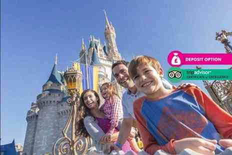 Book It Now Holidays - Seven night Disney World Orlando stay and flights - Save 40%
