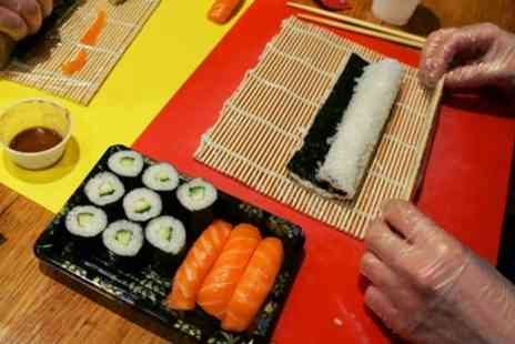 Suzu Japanese Tapas Bar - Two Hour Sushi Class with Rolling Mat for One or Two - Save 58%