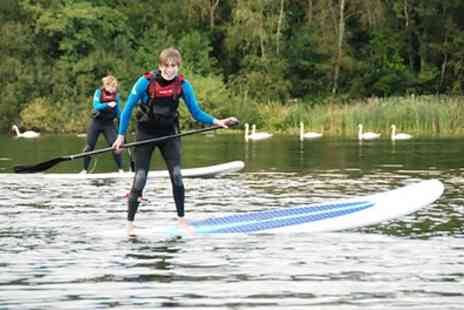 Devon Windsurf & Canoe Centre - Two Hour Paddleboard Lesson for Up to Four or Six - Save 58%