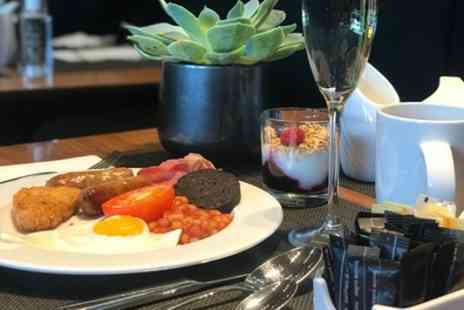 Hilton Manchester Deansgate - Prosecco Breakfast for Up to Four - Save 60%