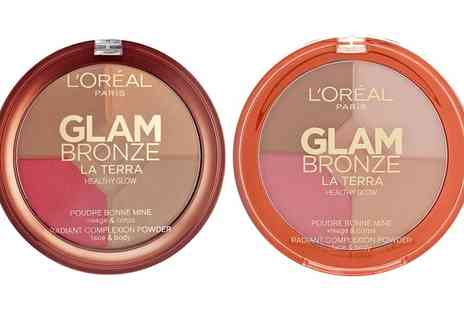 Groupon Goods Global GmbH - LOreal Paris Glam Bronze Glow Palette - Save 0%