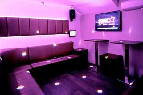 Sync Bar - Two Hour Private Karaoke Party with Drinks for Up to Seven - Save 76%