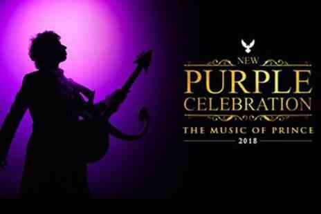 New Purple Celebration - Ticket to New Purple Celebration, The Music of Prince on 16 August to 14  December - Save 32%