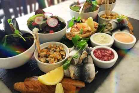 Chapmans Seafood Bar - Cold Fish Platter Lunch for Two, Four, Six or Ten - Save 53%