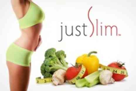 JustSlim - Personalised Diet and Nutrition Plan Three Month Package - Save 60%