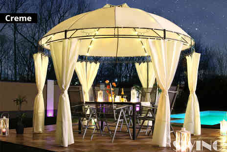 EveMotion GmbH - Swing And Harmonie luxury Led pavilion choose from four colours - Save 61%