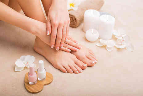 Indulge Hair and Beauty - Gel manicure, Gel pedicure or both - Save 66%