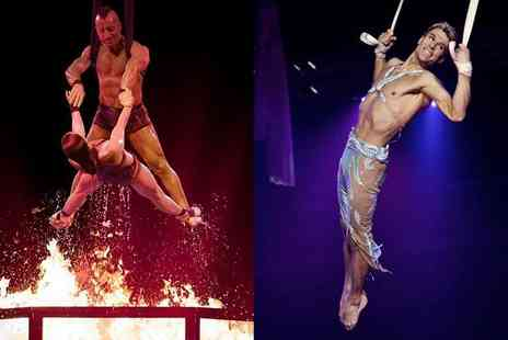 Tony Hopkins Entertainment - A front circle ticket to see the Netherlands National Circus - Save 0%