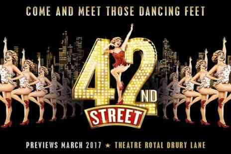 London Theatre Direct - 42nd Street Theater Show in London - Save 0%