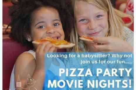 Neverland childrens tours - Movie Madness Pizza Party Movie Night - Save 0%