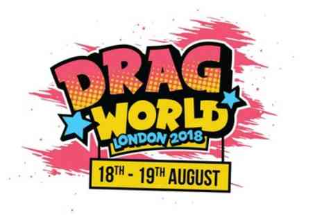 Alchemy Promotions Limited - DragWorld Convention ticket on 18 To 19 August - Save 25%
