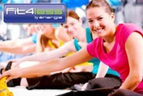 Fit4less Tower Hill - Ten Individual Gym  Passes - Save 82%