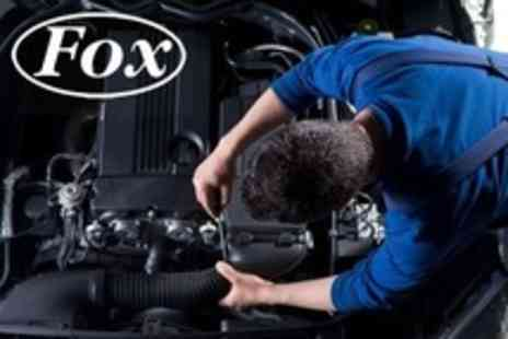 Fox Garage Services - Car Check With Air Conditioning Recharge - Save 66%