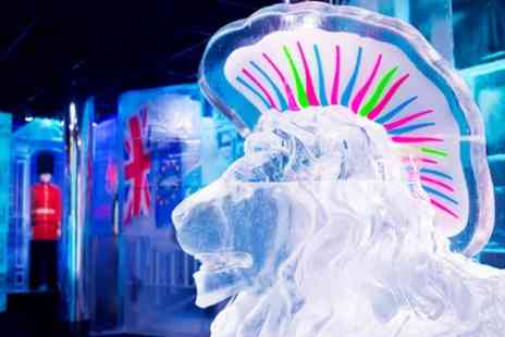 Belowzero Ice Bar - 40 Minute Ice Bar Entry with Bottomless Prosecco for Up to Four - Save 52%