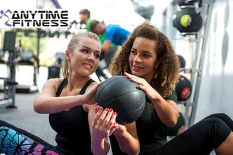Anytime Fitness - 10 Gym Passes - Save 83%
