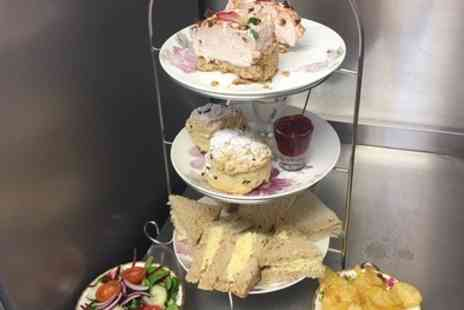 The Old Bakehouse Tearoom - Traditional or Ploughmans Afternoon Tea for Two or Four - Save 42%