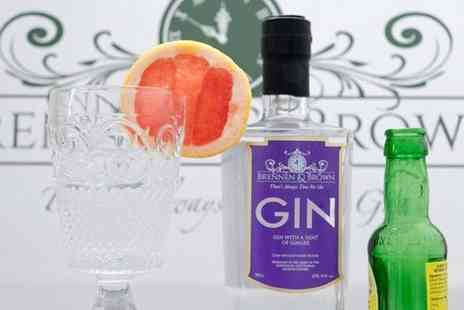 Buyagift - Gin tasting experience for two at Brennen and Brown - Save 0%