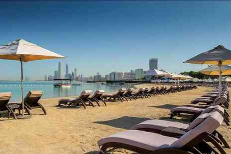 Great Pacific Travels - Five Star Three day half board Abu Dhabi stay with flights and optional excursions - Save 38%