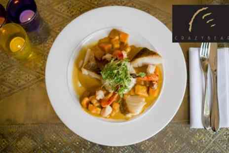 The Crazy Bear Group - English or Thai Signature Menu with Premium Champagne - Save 66%