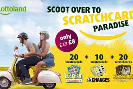 Lottoland - 50 Online Scratchcards - Save 65%