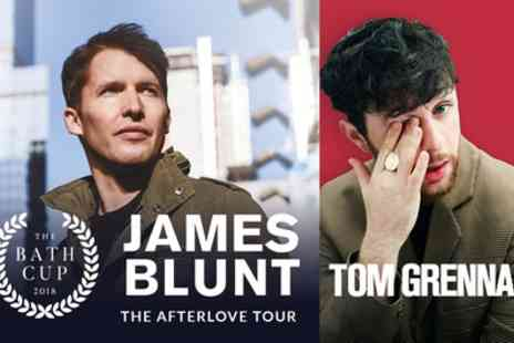 Bath Racecourse - Bath Cup Festival featuring James Blunt and Tom Grennan on 15 September - Save 0%