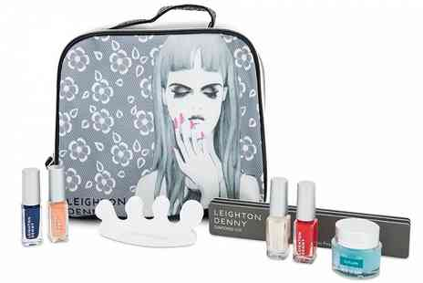 Ckent - Leighton Denny prim And proper complete nail gift set - Save 75%