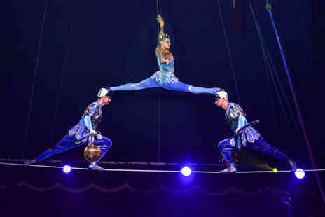 The European Events Corporation - Grandstand ticket to the Moscow State Circus production of Gostinitsa in Anglesey - Save 51%